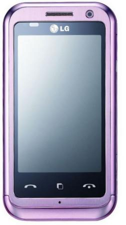 LG Mobile, KM900 Arena modeline pembe renk seçeneği ekledi