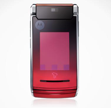 İnce tasarımlı Motorola V10, Güney Kore pazarı için duyuruldu