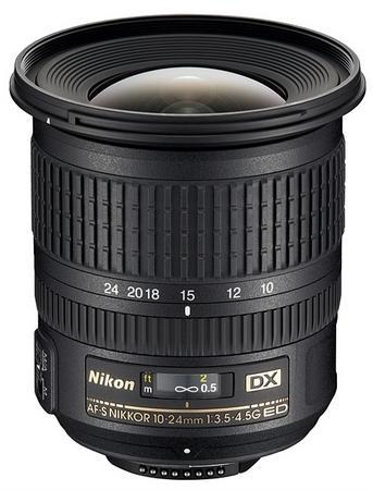 Nikon, 10-24 mm Nikkor f/3.5-4.5G ED AF-S'yi sergiledi