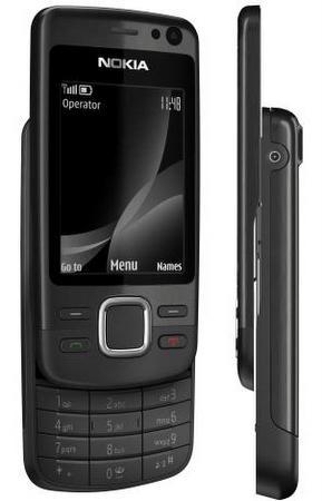 Nokia, 5 MP kameralı 6600i Slide modelini tanıttı