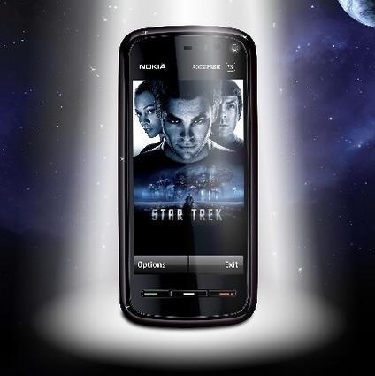 Nokia 5800 Star Trek Edition'ın İngiltere'de satışına başlandı