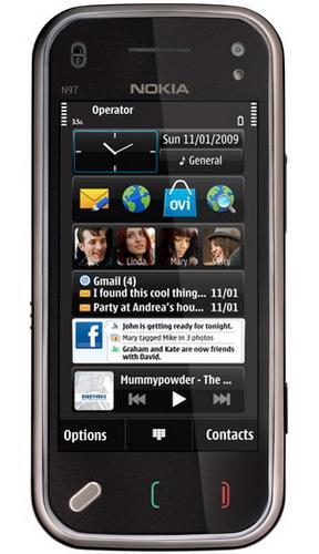 QWERTY klavyeli Nokia N97 Mini, resmi olarak tanıtıldı