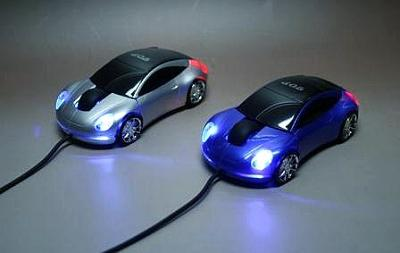 OTAS'dan otomobil tasarımlı optik fare