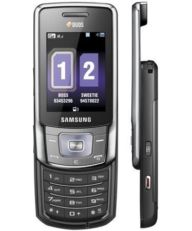 Çift sim kartı desteği sunan Samsung B5702 resmiyet kazandı