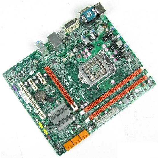 ECS'den 32nm Intel işlemciler H55 çipsetli anakart: H55M