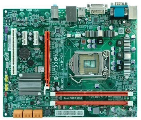 ECS'den yeni nesil Intel işlemciler için H55/H57 çipsetli 5 yeni anakart