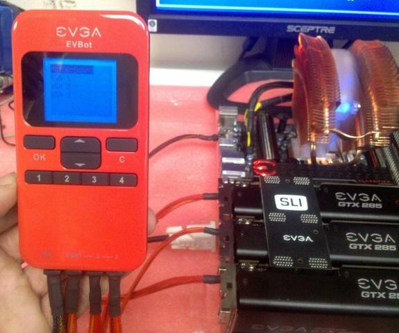 EVGA yeni hız aşırtma aracı EVBot'u satışa sunuyor