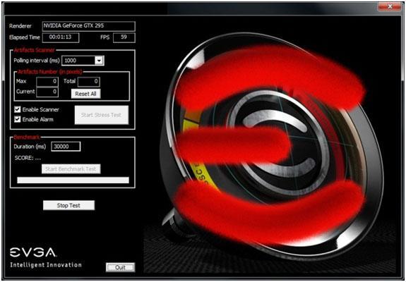 EVGA'dan ekran kartları için yeni bir test ve ölçüm yazılımı