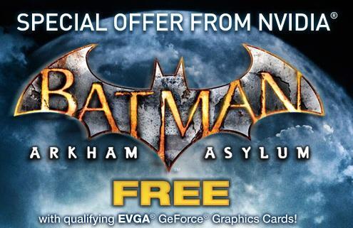 Nvidia Batman: Arkham  Asylum oyununu ücretsiz olarak veriyor