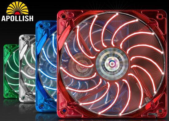 Enermax Apollish serisi yeni kasa fanlarını kullanıma sunuyor