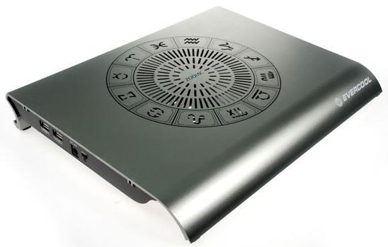 Evercool'dan yeni dizüstü bilgisayar soğutucusu: Zodiac II