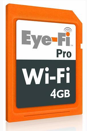 Eye-Fi Pro; WiFi destekli bellek kartının yeni versiyonu hazır