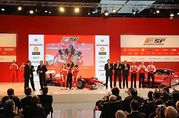 Ferrari 2010 sezonunu açtı; AMD birlikteliği devam ediyor
