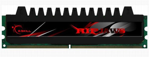 G.Skill oyuncular için hazırladığı Ripjaws DDR3 bellek serisini duyurdu