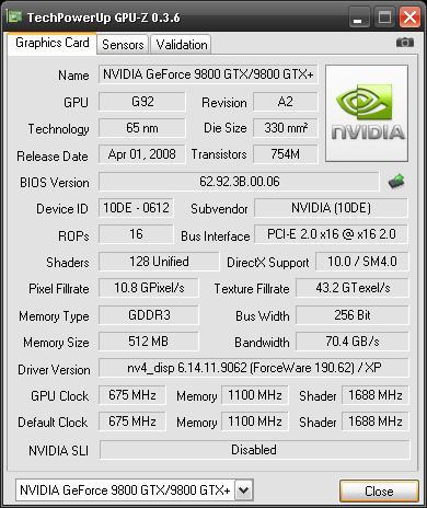 GPU-Z'nin 0.3.6 sürüm numaralı yeni versiyonu yayımlandı