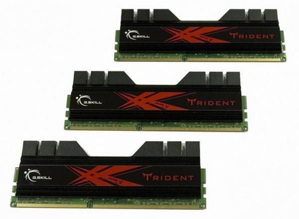 G.Skill, Trident serisi 2GHz'de çalışan DDR3 bellek kitini duyurdu