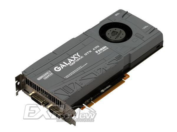 Galaxy'nin özel tasarımlı GeForce GTX 470 modeli göründü