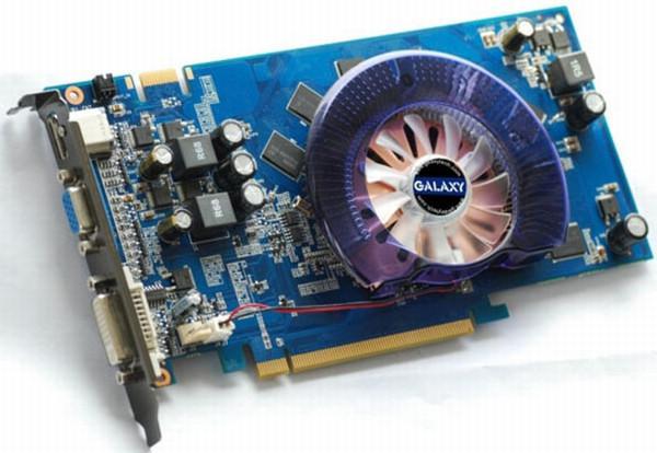 Galaxy düşük tüketimli GeForce 9600GT modelini tanıttı