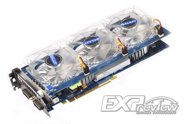 Galaxy'nin çift GPU'lu GeForce GTS 250 modeli test edildi