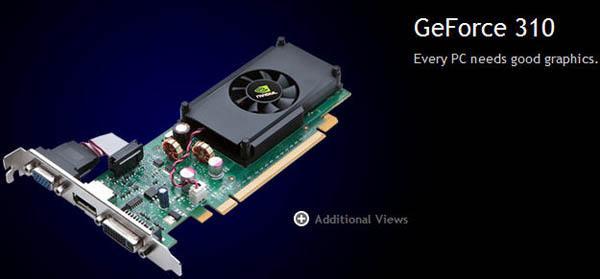 Nvidia GeForce 310 gün ışığına çıktı