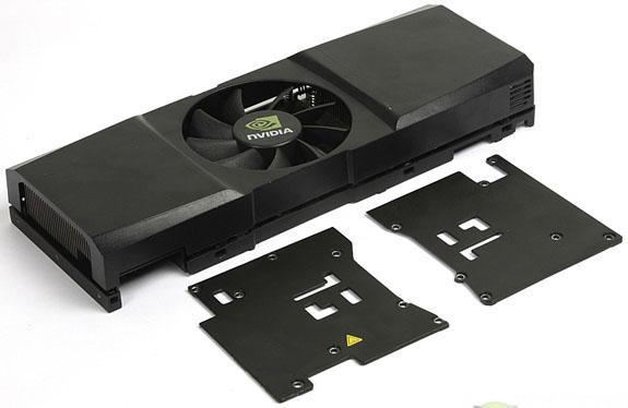 Tek PCB'li GeForce GTX 295'in detaylı görselleri yayımlandı