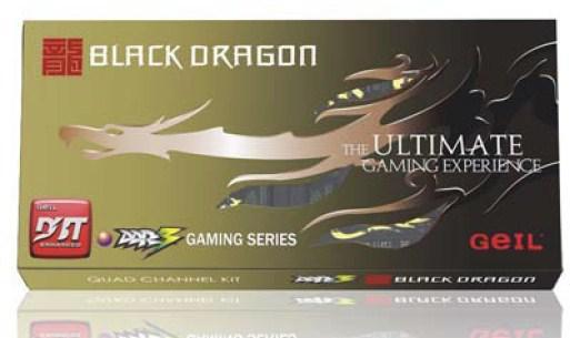 GeIL Black Dragon serisi DDR3 bellek kitlerini duyurdu