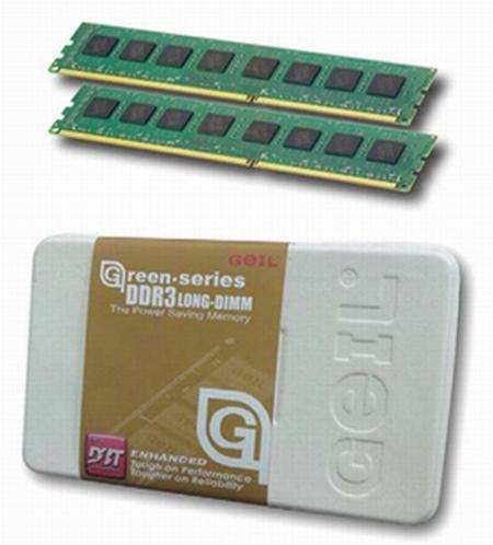 GeIL enerji verimli dört yeni DDR3 bellek kiti hazırladı
