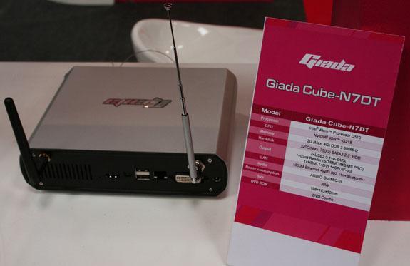 CeBIT 2010: Giada, Nvidia ION 2 tabanlı nettop sistemlerini tanıttı
