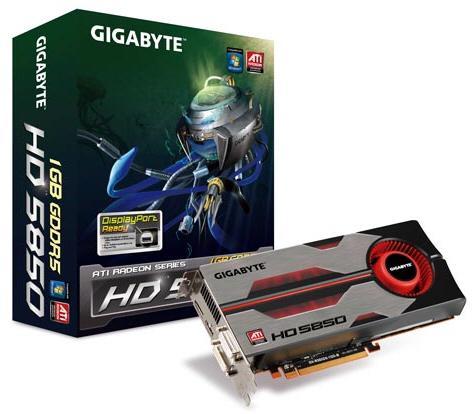 Gigabyte Radeon HD 5850 ve HD 5870 modellerini duyurdu