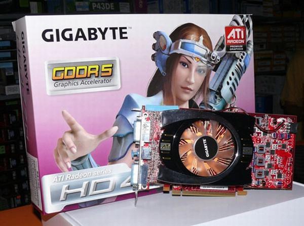 Gigabyte'ın Radeon HD 4770 modeli gün ışığına çıktı