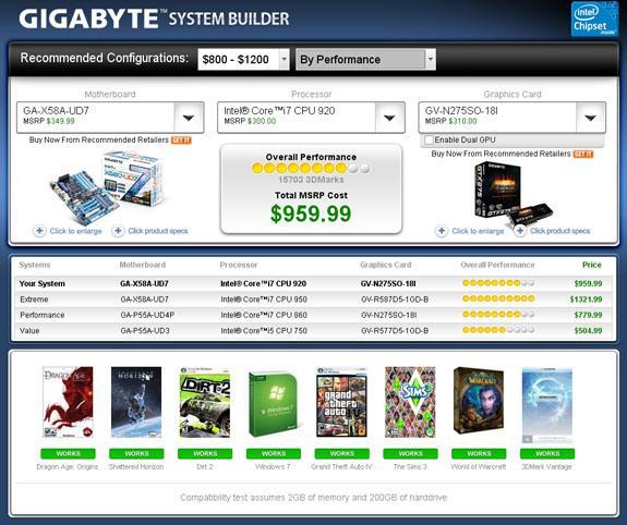 Futuremark ve Gigabyte, Sistem Yaratıcısı'nı duyurdu