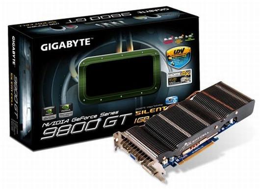 Gigabyte pasif soğutmasıyla dikkat çeken GeForce 9800GT modelini duyurdu