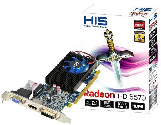 HIS, Radeon HD 5570 modelinin yaygın satışına başlıyor