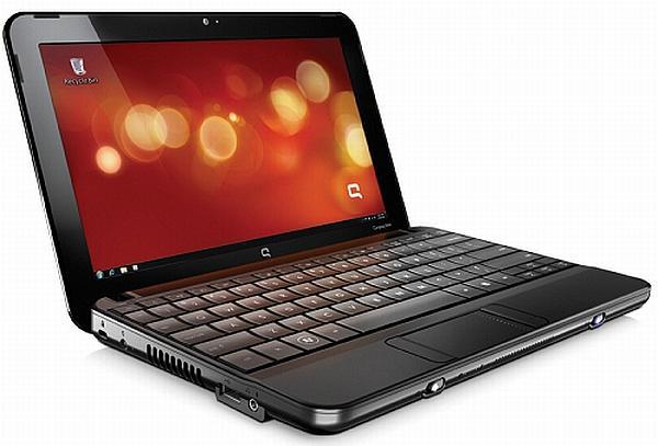 HP'den Atom 2 işlemcili yeni netbook: Compaq Mini CQ10