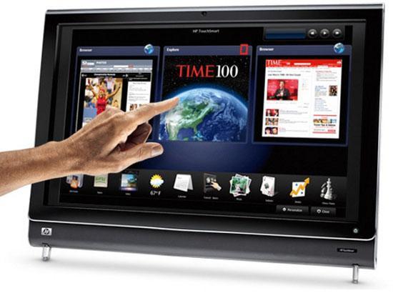 HP'den kurumsal müşteriler için yeni bir Panel PC: TouchSmart 9100