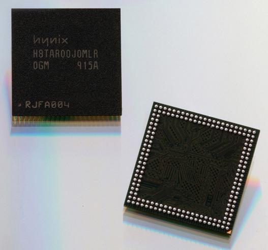 Hynix dünyanın ilk 54nm mobil DDR2 belleğini duyurdu