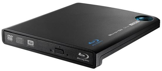 I-O Data'dan 6x hızında kayıt yapabilen ince tasarımlı harici Blu-Ray sürücüsü