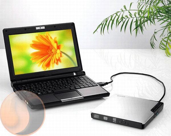 I-O Data, netbook'lar için hazırladığı harici DVD yazıcısını duyurdu