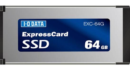 I-O Data iki yeni ExpressCard SSD hazırladı