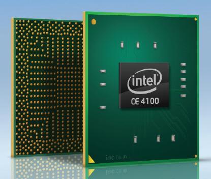 IDF 2009: Intel yeni medya işlemcsi Atom CE4100'ü duyurdu