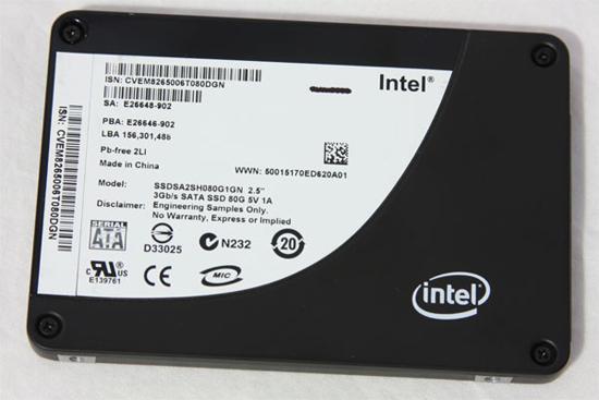 Intel ilk jenerasyon SSD modelleriyle yollarını ayırmaya hazırlanıyor