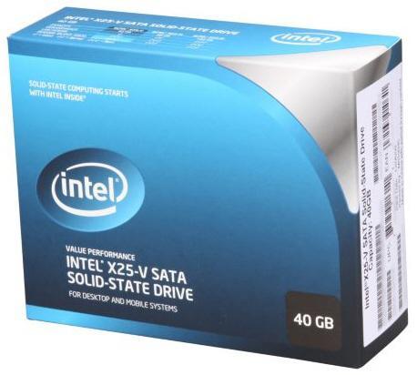 Intel 40GB kapasiteli SSD modelini satışa sundu: X25-V