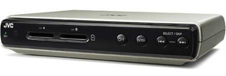 JVC'den SD kart girişli HD oynatıcı: CU-VS100