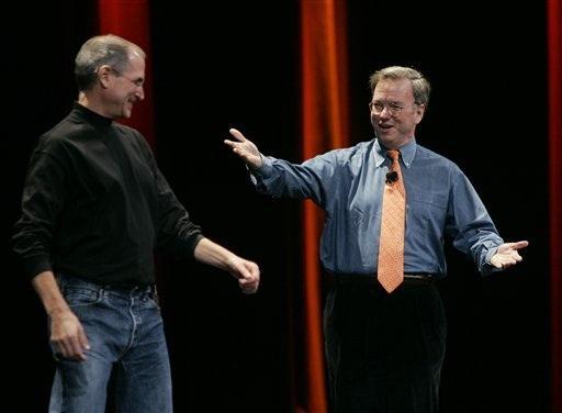 Google ve Apple arasındaki rekabetin asıl nedeni Jobs ve Schmidt mi ?