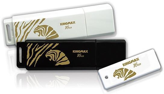 Kingmax Golden Tiger serisi yeni USB belleklerini duyurdu