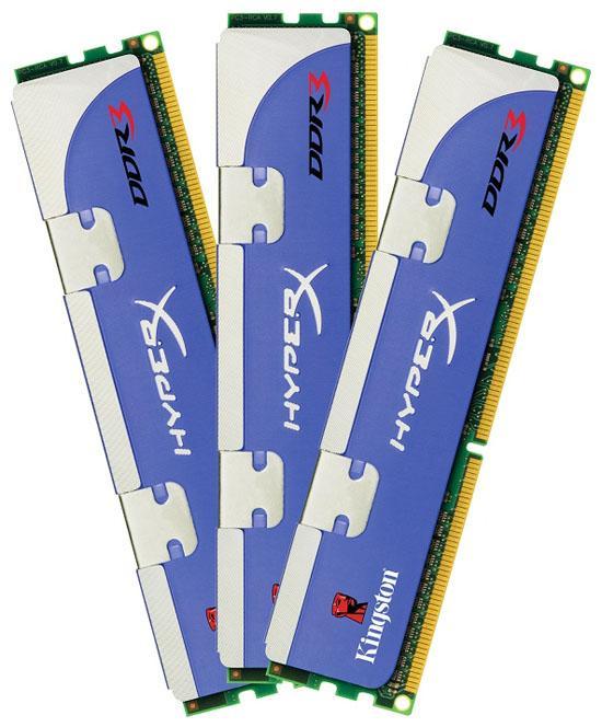 Kingston 12GB kapasiteli DDR3 bellek kitini satışa sunuyor
