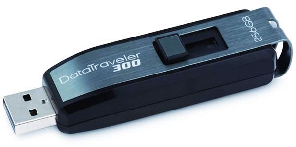Kingston Data Traveler 300: 256GB kapasiteli USB bellek rekor fiyatla geliyor