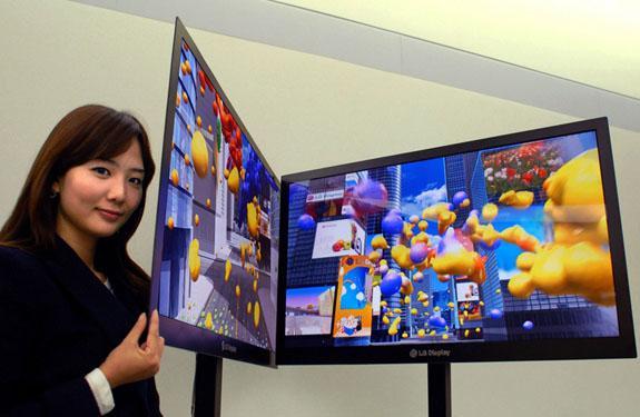 LG 2.6mm kalınlığındaki LCD panelini gösterdi