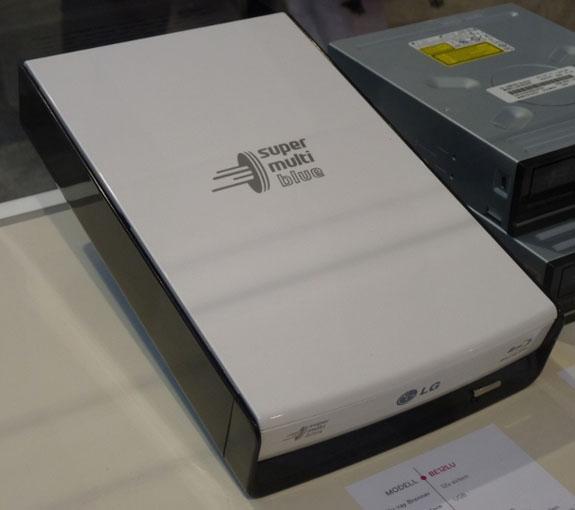 CeBIT 2010: LG'den üç yeni Blu-ray sürücü