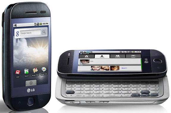 LG'nin Google Android tabanlı ilk telefonu resmi olarak duyuruldu; GW620